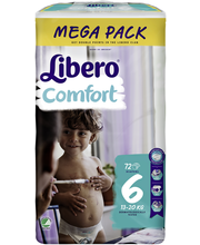 Libero Comfort 72kpl k...