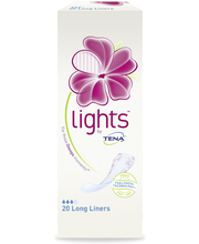 Lights by Tena 20kpl Long Liner pikkuhousunsuoja