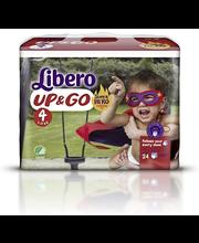 Libero Up&Go 24kpl koko 4, 7-11kg Housuvaippa