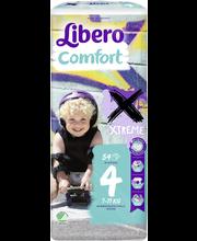 Libero Comfort 54kpl koko 4 7-11kg Teippivaippa