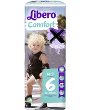 Libero Comfort 46kpl koko 6 13-20kg Teippivaippa
