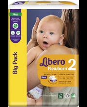 Libero Newborn 88kpl koko 2, 2-5kg Teippivaippa
