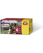 Libero Up&Go 76kpl koko 6 Big Box 13-20kg Housuvaippa