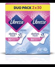 Libresse Normal tuplapaketti pikkuhousunsuojat 60 kpl