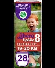 Libero Up&Go housuvaippa koko 8, 19-30 kg, 28 kpl