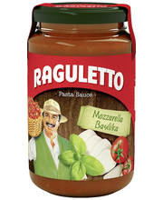 Raguletto 400ml Mozzarella-Basilika pastakastike