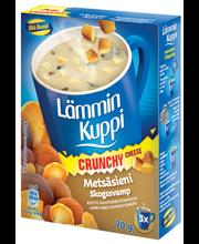 Blå Band Lämmin Kuppi 3x23g Crunchy Metsäsienikeitto juustokrutongeilla