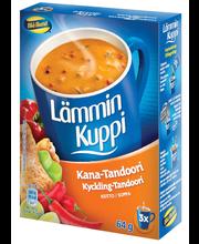 Blå Band 3x21g Lämmin Kuppi Kana-Tandoorikeitto