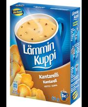 Blå Band 3x20g Lämmin Kuppi Kantarellikeitto
