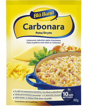 Blå Band 143g Carbonara pata Carbonaran makuinen Pasta-mausteseos