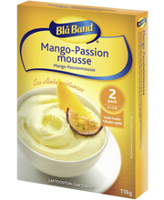 Blå Band 2x58g Mango-Passionmousse