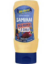 Blå Band 300ml Samurai Red Pepper&Chili Spicy Sauce Paprika-Chilimajoneesi