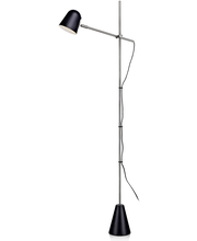 Markslöjd Conrad lattiavalaisin, musta/teräs