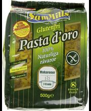 SamMills Pasta d'oro 500g Makaroner luontaisesti gluteeniton pasta