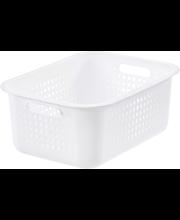 Orthex SmartStore Basket Recycled 15 säilytyskori valkoinen