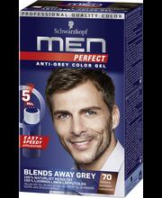 70 Tummanruskea hiusväri