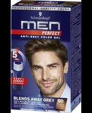 60 Keskiruskea hiusväri