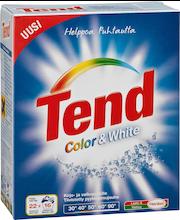 Tend 750g Color&White pyykinpesujauhe kirjo-ja valkopyykille