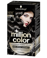 Schwarzkopf Million Color 1-0 Deep Black hiusväri