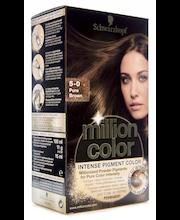 Schwarzkopf Million Color 5-0 Pure Brown hiusväri