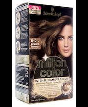 Schwarzkopf Million Color 6-0 Brilliant Brown hiusväri