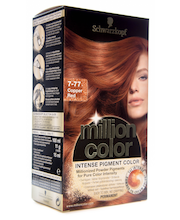 Schwarzkopf Million Color 7-77 Copper Red hiusväri