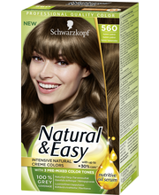 Schwarzkopf Natural & Easy 523 Kirkas Kylmänvaalea hiusväri