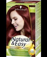 Schwarzkopf Natural & Easy 568 Kirkkaanpunainen hiusväri