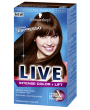 Schwarzkopf Live L46 Vibrant Espresso hiusväri