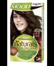 Palette Mood Naturals 4-0 hiusväri keskiruskea