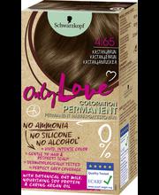 Schwarzkopf Only Love 4.65 hiusväri kastanjanruskea