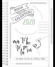 Teemakalenteri 2020 Scribble II Burde
