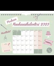 Perhekalenteri 2020 Perheen Kuukausikalenteri 350 x 270 mm Burde