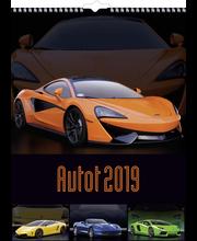 Seinäkalenteri 2019 autot