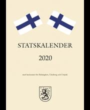 Taskukalenteri 2020 Statskalender A6 Burde
