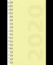 Taskukalenteri 2020 Master Ottawa keltainen Burde