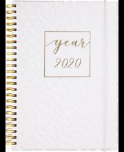 Pöytäkalenteri 2020 Business Solo valkoinen Burde
