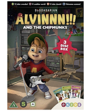 Dvd Alvinnn Box 2