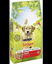Friskies 7,5kg Adult Runsaasti Lihaa koiranruoka