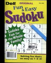 Dell Original Sudoku, ristikot