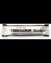 Barebells 55g Cookies-Cream proteiinipatukka