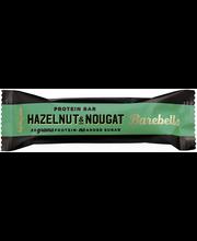 Barebells 55g Hazelnut-Nougat proteiinipatukka