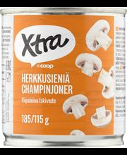 Xtra 185/115g herkkusieniä viipaleina