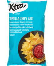 X-tra Tortilla chips 450 g