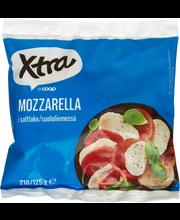 X-tra Mozzarella 19 %, 200/125 g