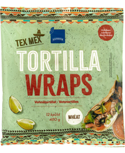 Rainbow Tex Mex tortilla wraps 12 kpl, 480 g