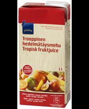 Rainbow Trooppinen hedelmätäysmehu 1 l