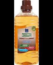 Parketti & laminaattipuhdistusaine 1 l