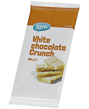 X-tra White chocolate crunch 100 g