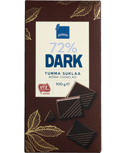 Rainbow Dark 72 % tumma suklaa 100 g
